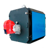 Котел водогрейный газо-жидкотопливный стальной ECOTRIO ECT 3.550