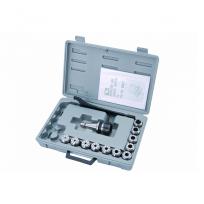 Цанговый патрон с набором из 12 цанг 3-20 мм JET ISO30/ER32