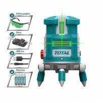 Лазерный уровень 3D TOTAL TLL305205