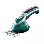 Аккумуляторные ножницы Bosch ISIO 3 для травы и кустов