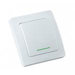 Выключатель с самовозвратом кнопка звонковая с индикатором ВС10-332 Серия MASTER от HEGEL
