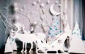 Новогодние декорации из пенопласта